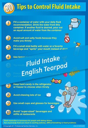 Tear Pad – 20 Tips for Fluid Control – English
