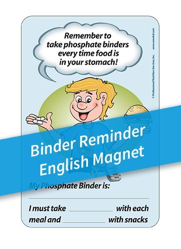 Binder Reminder Magnets – English
