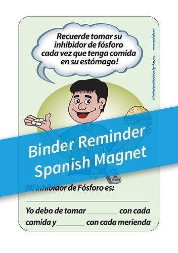 Binder Reminder Magnets – Spanish