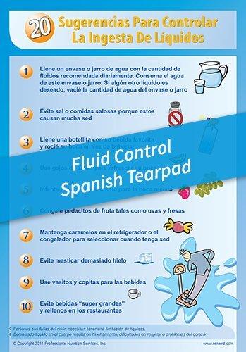 Tear Pad – 20 Tips for Fluid Control – Spanish