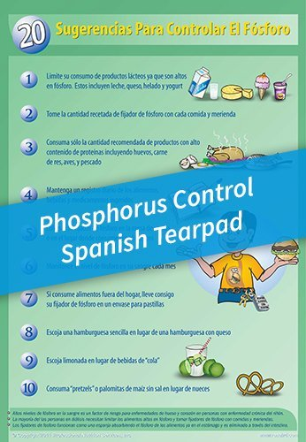 Tear Pad – 20 Tips to Control Phosphorus – Spanish