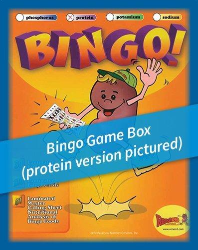 Renal Nutrition -Protein- BINGO Game